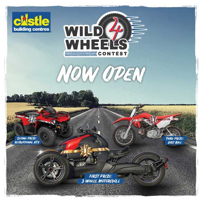 Wild 4 Wheels Contest